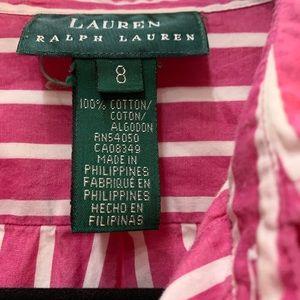 Ralph Lauren Striped Button Up Shirt